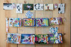 Professora Juce: Muitas ideias para o Cantinho da Leitura na Educação Infantil! Gallery Wall, Frame, Bedroom, Toy Organization, Little Boy Bedroom Ideas, Reading Room, Children's Library, Work Spaces, Organizers