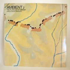 Ambient 2 The Plateaux of Mirror Vinyl - Harold Budd/Brian Eno Record - Virgin Records 1980 1987 Editions EG Chill Out Music, Good Music, Vaporwave, Vintage Music, Retro Vintage, Mirror Vinyl, Mirrors, Virgin Records, Jazz Funk