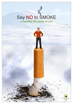 No Smoking Please...... (Y) . Poster by FlickBot Media