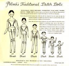 Pollock's Traditional Dutch Dolls. Pinecone Crafts Kids, Pine Cone Crafts, Antique Dolls, Vintage Dolls, Paper Dolls, Art Dolls, Peg Wooden Doll, Doll Quilt, Doll Crafts