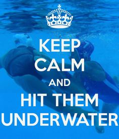 Anything goes under the surface! I miss it sometimes :) water Polo Water Polo Rules, Water Polo Players, I Love Swimming, Under The Surface, Swim Team, My Guy, Water Sports, Keep Calm, Underwater