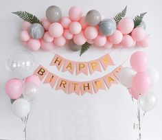 ✦ Please leave your event date in note ✦ Stylish Party DIY Balloon Garland Kit!Check out our decor set for birthday in color of Pink and Black. Perfect addition to the birthday party to make it special and memorable. This is an exclusive and amazing bi 21st Birthday Decorations, Diy Party Decorations, Balloon Decorations, Birthday Banners, Birthday Numbers, Birthday Cards, Pink Birthday, 1st Birthday Parties, Balloon Birthday