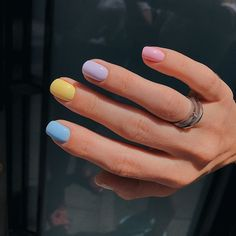 Perhaps you have discovered your nails lack of some popular nail art? Sure, lately, many girls personalize their nails with lovely … Cute Summer Nails, Cute Nails, Pretty Nails, Pink Summer, Summer Time, Hair And Nails, My Nails, Nagellack Design, Beauty Blogs