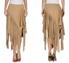 asymmetric fringe skirt | JUNYA WATANABE COMME des GARÇONS Knee length skirt £ 333.00 | http://www.yoox.com/uk/35233427WW/item?dept=women&utm_medium=affiliazione&tp=51681&utm_campaign=textlink&utm_source=admitad_ru&uid=56ad766b7a15a47a8b9f43865775bb31#sts=sr_women80&cod10=35233427UV&sizeId=5