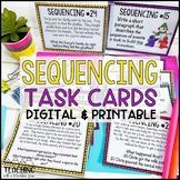Sequencing Task Cards | Distance Learning | Google Classroom Reading Skills, Teaching Reading, Learning, Reading Task Cards, Nouns And Verbs, Reading Projects, Reading Comprehension Passages, Writing Lessons, Google Classroom