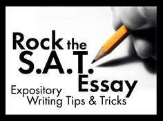 Tips for the SAT essay?