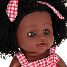 Girl Dolls, Baby Dolls, Doll With Hair, African Girl, Black Babies, Reborn Dolls, Doll Toys, Fashion Dolls, Gifts For Kids