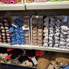 Duffy The Disney Bear Small and Medium Tsum Tsum at Walt Disney World.