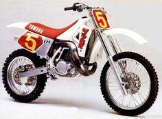 1989- Yamaha YZM500 Works Bike