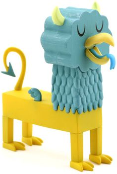 'Griffin' by Amanda Visell from her Tic Toc Apocalypse series produced by Kidrobot.