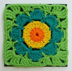 Groovy Textiles freebie square, adorable. thanks so xox**Bright & Fun!**