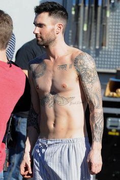 Sexy Tattoos of Adam Levine: Adam Levine Tattoo On Sholuder ~ tattooeve.com Tattoo Design Inspiration