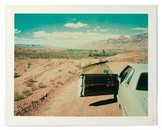 Wim Wenders Polaroids