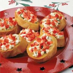 Having a party? Try out this Feta Bruschetta Recipe by Taste of Home as your appetizer!