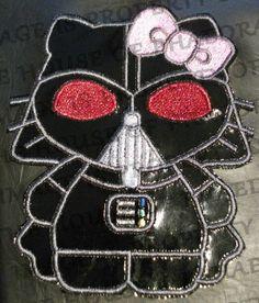 Star Wars Hello Kitty Darth Vader Machine by HouseofPhaedra, $8.00