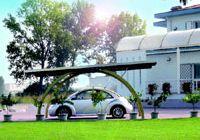 Carport Leonardo - The elegant shapes of daily spaces - Wood and aluminium