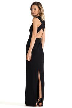 SOLACE London Casa Maxi Dress in Black | REVOLVE
