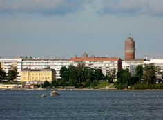 Vaasa, sunniest city in Finland. My homecity for two decades. Our home was here by the shore line.