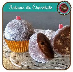 Brigadeiro de Salame de Chocolate