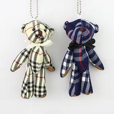 12cm Joint Teddy Bear Plush Stuffed toys for cartoon bouquet,Plaid mini bears toys,Kids Christmas Gift 12pcs #ChristmasGifts