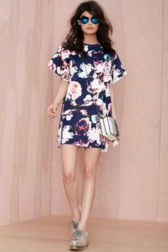 Finders Keepers Illuminati Floral Dress - Shift | Going Out | Day | Finders Keepers