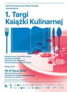 Już 19 lipca rozpoczną się w Warszawie Targi Książki Kulinarnej. New Recipes, Food News