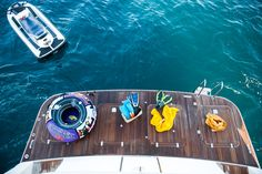 """Cape 4  Charters """"m/y Dilias""""  Enjoy your summer ! #Toys#yacht #charter #Greece"""