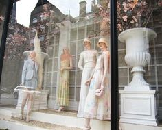 Ralph Lauren, Spring, 2012 , windows inspired by the Great Gatsby