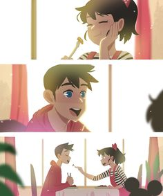 Crush Series on Behance Manga Romance, Romance Art, Cute Couple Comics, Cute Comics, Character Art, Character Design, Anime Amor, Dibujos Cute, Love Illustration