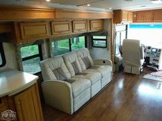 2004 Winnebago Vectra 40AD, Class A - Diesel RV For Sale in Axtell, Texas   RVT.com - 175156 Diesel For Sale, Rv For Sale, Porch Lighting, Interior Lighting, Roof Access Ladder, Roof Coating, Air Brake, Refrigerator Freezer, Blinds For Windows