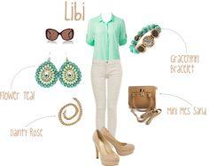 Libi outfit by libiandlola, via Polyvore