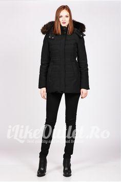 Zara, winter black jacket