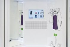 The Connected Fitting Room Lets Consumers Take Control of Shopping #tech #trends trendhunter.com