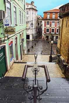 Portugal Travel Inspiration - Coimbra - Portugal