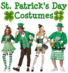 Party Galaxy carried tons of St. Patrick's Day Costumes and accessories to perfect your look!