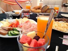 Desayuno danés.