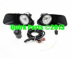 2012-2013 Dodge Caravan Production Style Fog Lamp Lights Kit MOPAR OEM NEW #Mopar