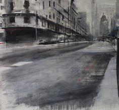 Urban Painting, Industrial, China, Oil, Landscape Paintings, Watercolor Paintings, Art, Urban Landscape, Black And White