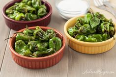 Well worth making these! Yup! Andrea Meyers - Padron Pepper Tapa