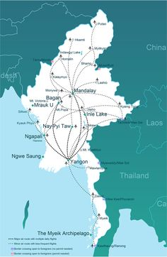 Transport options in Myanmar