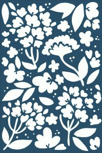 Dear Lizzy floral card (Silhouette cut file) by American Crafts 99 cents