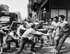 """""""West Side Story"""" (Robert Wise and Jerome Robbins, Film Musical, Musical Theatre, Music Film, Dance Music, Swing Dancing, My Fair Lady, Old Movies, Great Movies, West Side Story 1961"""