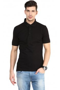 Cotton Polo T-shirts With Collar