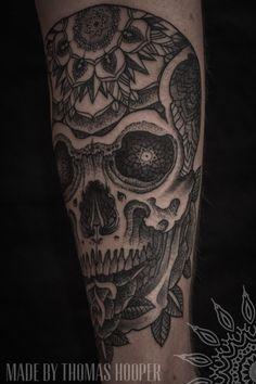 Conheça a arte do pontilhismo do tatuador Thomas Hooper | Tinta na Pele