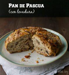 Pan de pascua con levadura / Chilean Christmas cake | En mi cocina hoy