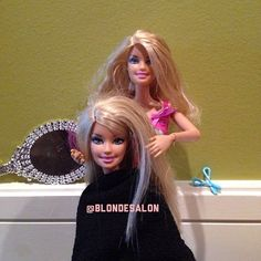 Gettin her hair done for fashion week with the #Blondtourage! #fashionweek #nyfw #blonde #barbie #picoftheday #photooftheday #OOTD #hair #instalike #instagood #bestoftheday #instafollow #me #girl #gorgeous #love #comeinwereblonde