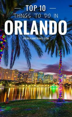 10 Things To Do In Orlando Florida Besides Disney World Yes, Orlando is home to Mickey Mouse! Disney World is the most visited theme park on Earth, and truly is a magical place. This post will highlight that the city of Orlando features tons of non-Disney Orlando Travel, Orlando Vacation, Florida Vacation, Florida Travel, Travel Usa, Orlando Disney, Downtown Orlando Florida, Orlando Shopping, Orlando Beach