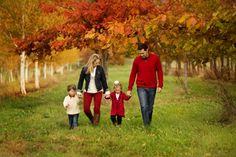 Fall family photos by Arlene Chambers Photography