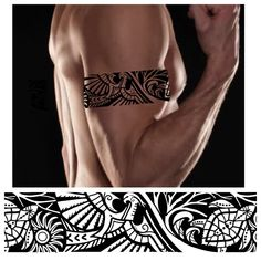 37 Ideas Tattoo Arm Cover Up Design Tribal Armband Tattoo, Armband Tattoos For Men, Armband Tattoo Design, Tribal Arm Tattoos, Arm Tattoos For Men, Bicep Tattoo Men, Band Tattoo Designs, Tattoo Band, Polynesian Tattoo Designs