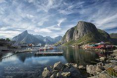 Amazing landscape in Hamnøy Lofoten by prlien